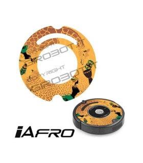 iCover - Decalcomania iAfro per iRobot Roomba 500-600