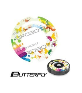 iCover - Decalcomania iButterfly per iRobot Roomba 500 600