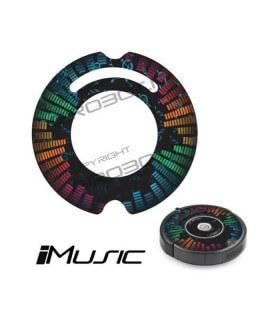 iCover - Decalcomania iMusic per iRobot Roomba 500 600