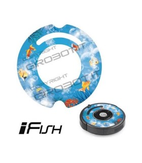 iCover - Decalcomania iFish per iRobot Roomba 500 600