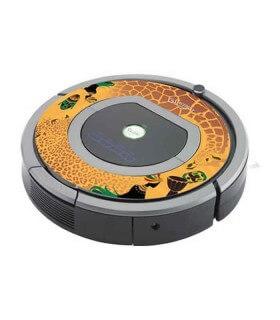 iCover - Decalcomania iAfro per iRobot Roomba 700