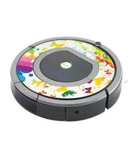 iCover - Decalcomania iButterfly per iRobot Roomba 700