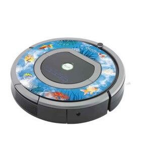 iCover - Decalcomania iFish per iRobot Roomba 700
