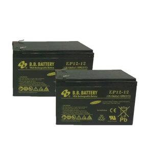 Set batterie 12AH RM Robomow RM