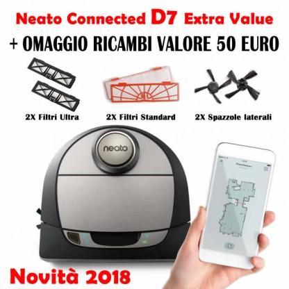 Neato D7 Connected Botvac Robot Aspirapolvere Extra Value