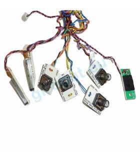 Neato XV - Cablaggio e sensori bumper