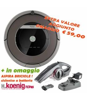 iRobot Roomba 871 - Servizio Assistenza iRobot Care incluso + OMAGGIO