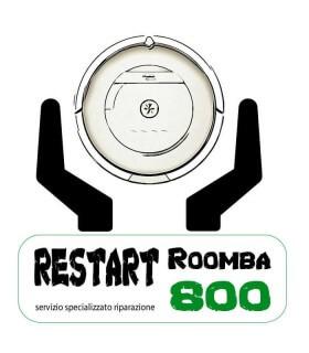 Servizio Restart iRobot Roomba 800