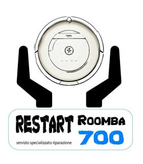 Servizio Restart Roomba 700