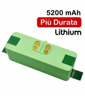 Batteria agli Ioni di Litio 5200Mah Roomba