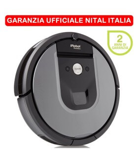 iRobot Roomba 960 - Robot Aspirapolvere - Garanzia Ufficiale Nital