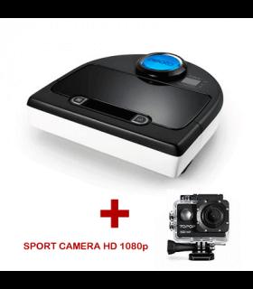Robot aspirapolvere NEATO BOTVAC D85 + Sport camera HD 1080p