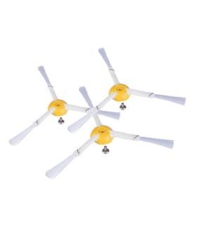 KIT 3 pezzi spazzola laterale 3 bracci. Roomba