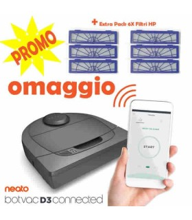 Neato D3 Connected - Promo Combo Pack