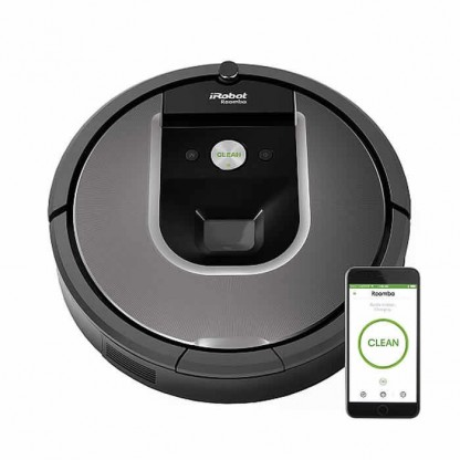 iRobot Roomba 960 - Robot Aspirapolvere Wi-Fi Gar. Italia