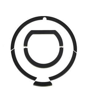 Kit completo Rifiniture + maniglia roomba - Nero