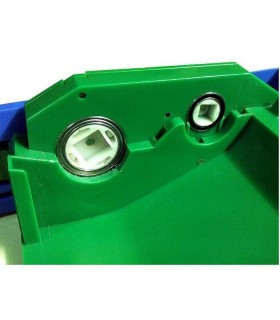 Roomba scatola ingranaggi gearbox VERDE con cuscinetti.