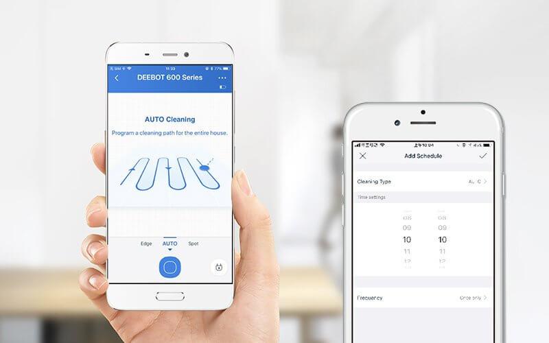 Ecovacs Deebot 601 - App Smartphone