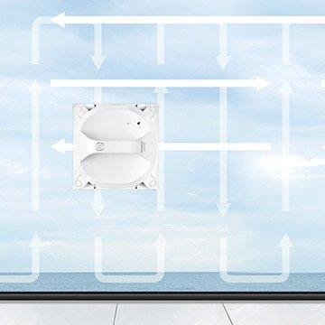 Ecovacs Winbot X - Modalità pulizia profonda